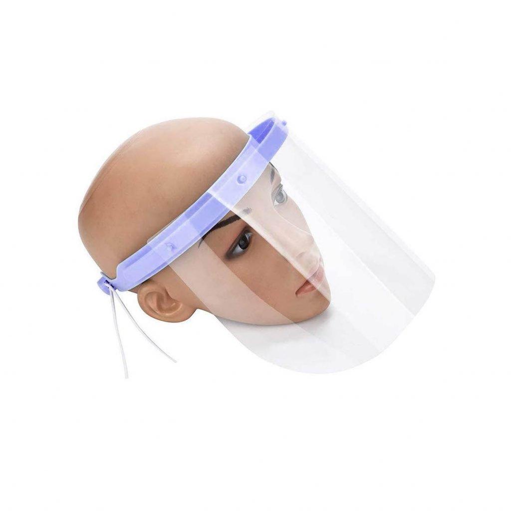 corte láser de acrílico para caretas protectoras